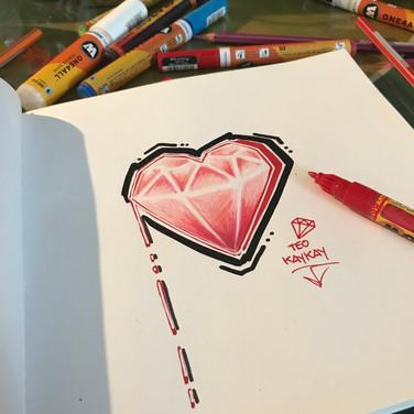 Teo KayKay Sketch Diamond