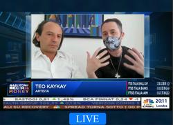 Teo KayKay NFT Champagne CNBC