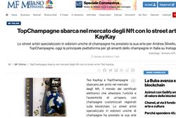 Milano Finanza Teo KayKay Champagne NFT