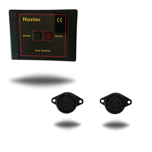 Haztec Gas Alarm 400HZ-2G Kit