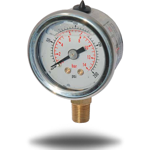 GasBOAT 6009 0-14bar Gas Pressure Gauge