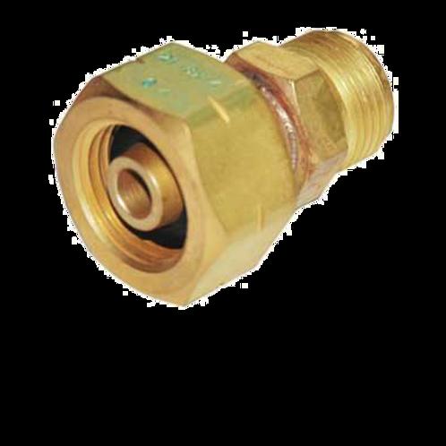 4012 Left-hand Female Nut Cylinder Adaptor