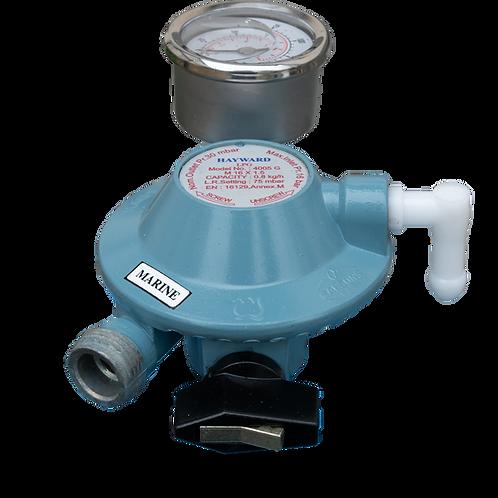 GasBOAT 4005-G Campingaz Regulator with Gauge/Manometer
