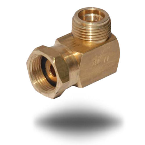 4106 M20 High Pressure Elbow Connector