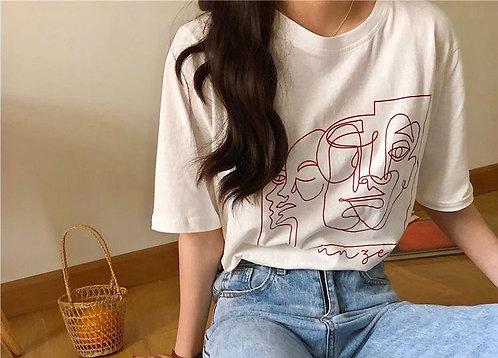 T Shirt Tulum white