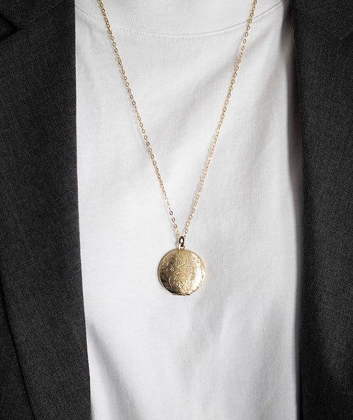 Médaille fleurie