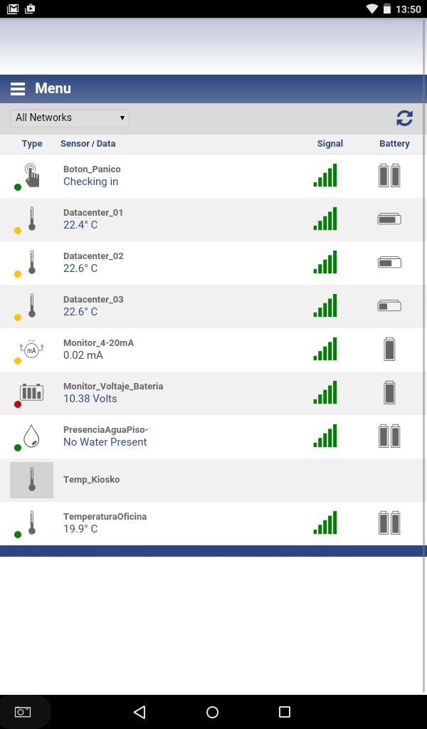 Aplicaciones de Smartsensor Wireless