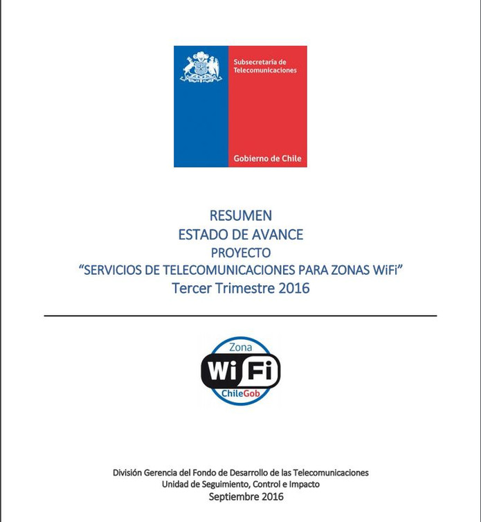 Cadena Nacional de Transmision WiFi : Donde todos los WiFi del Estado de CHILE desde Arica a Punta A