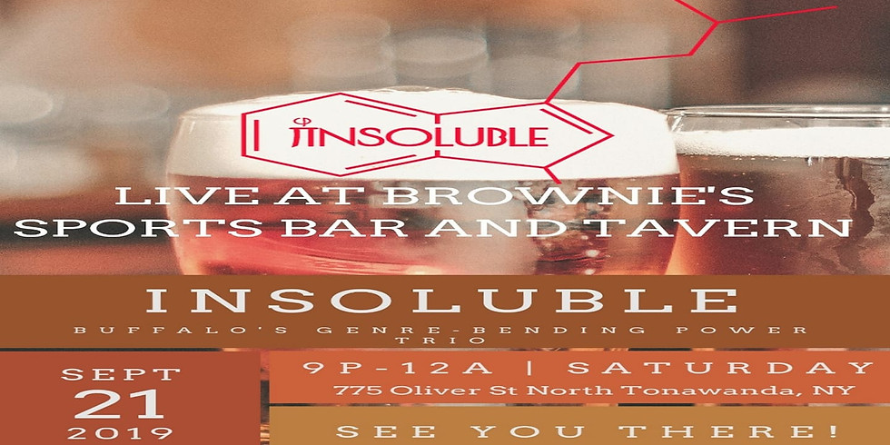 9/21/19 Saturday Night Showcase: Insoluble