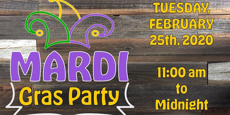 2/25 Mardi Gras Party