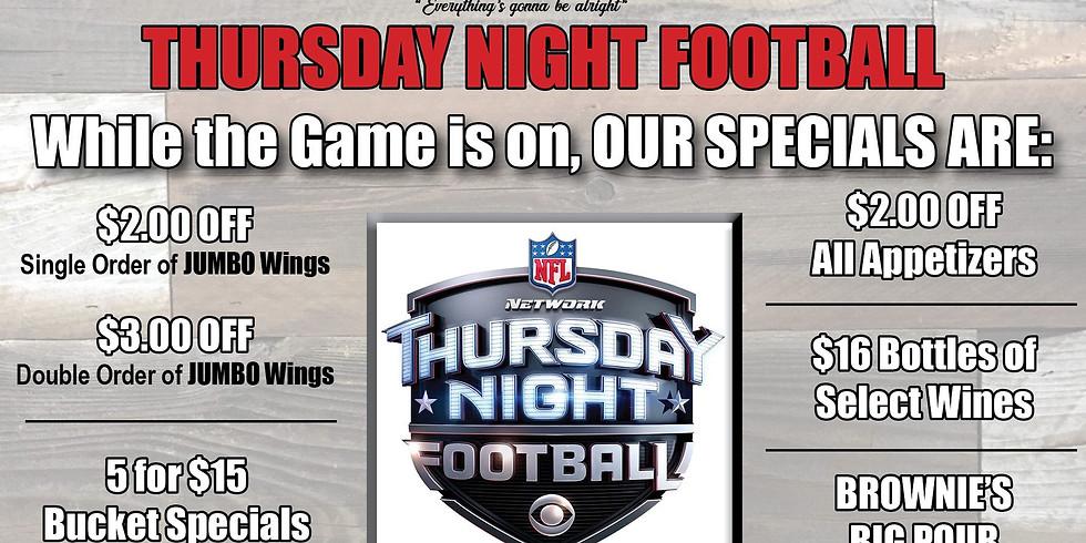 10/24 Thursday Night Football