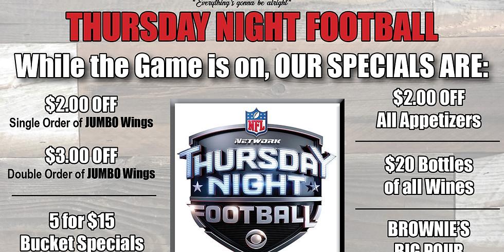 12/5 Thursday Night Football