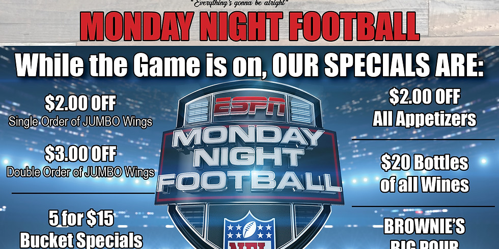 11/25 Monday Night Football