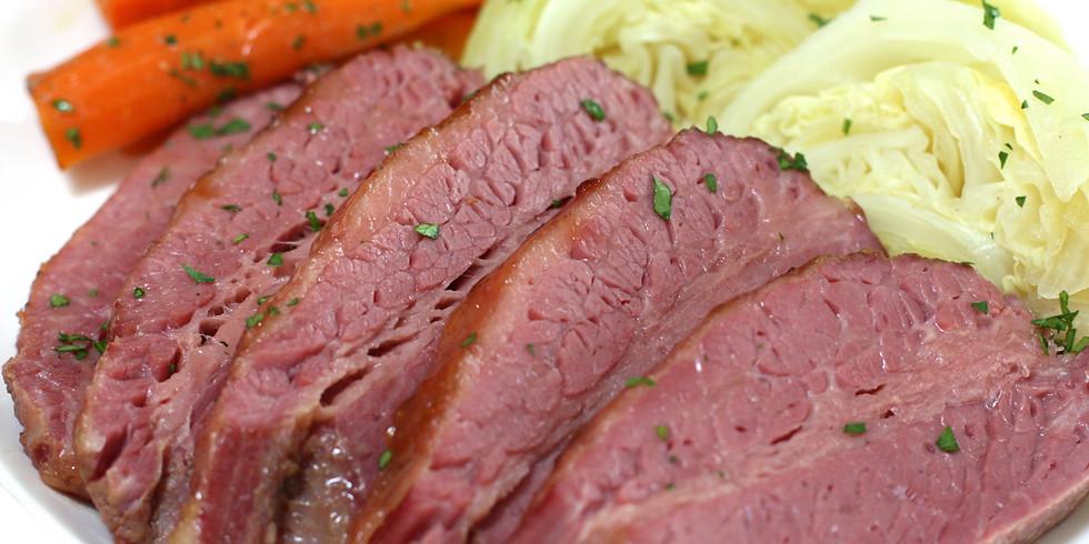 3/14/20 Corned Beef & Cabbage Dinner