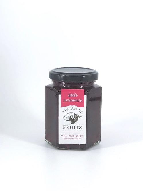 Gelée artisanale Saveurs de Fruits Framboise