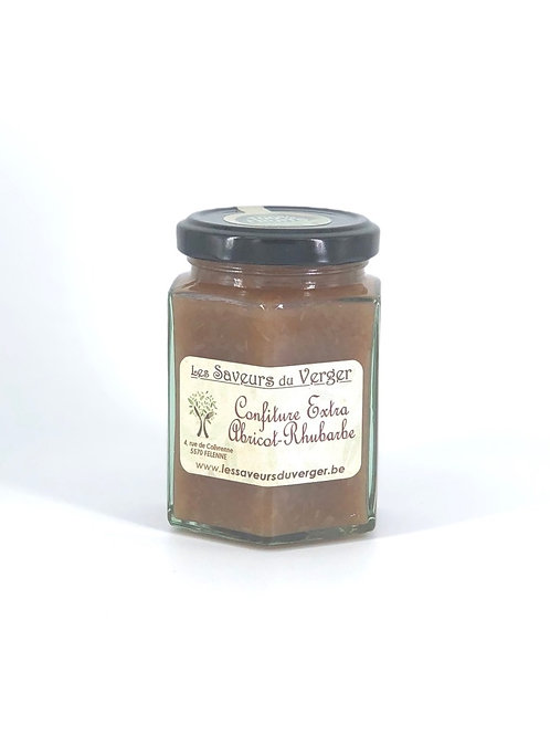 Confiture extra Abricot Rhubarbe