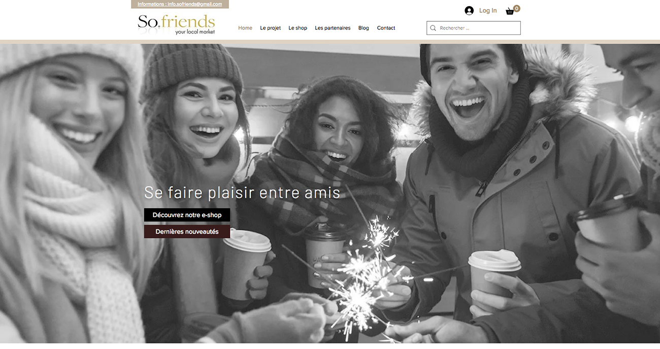 Projet so-friends.com