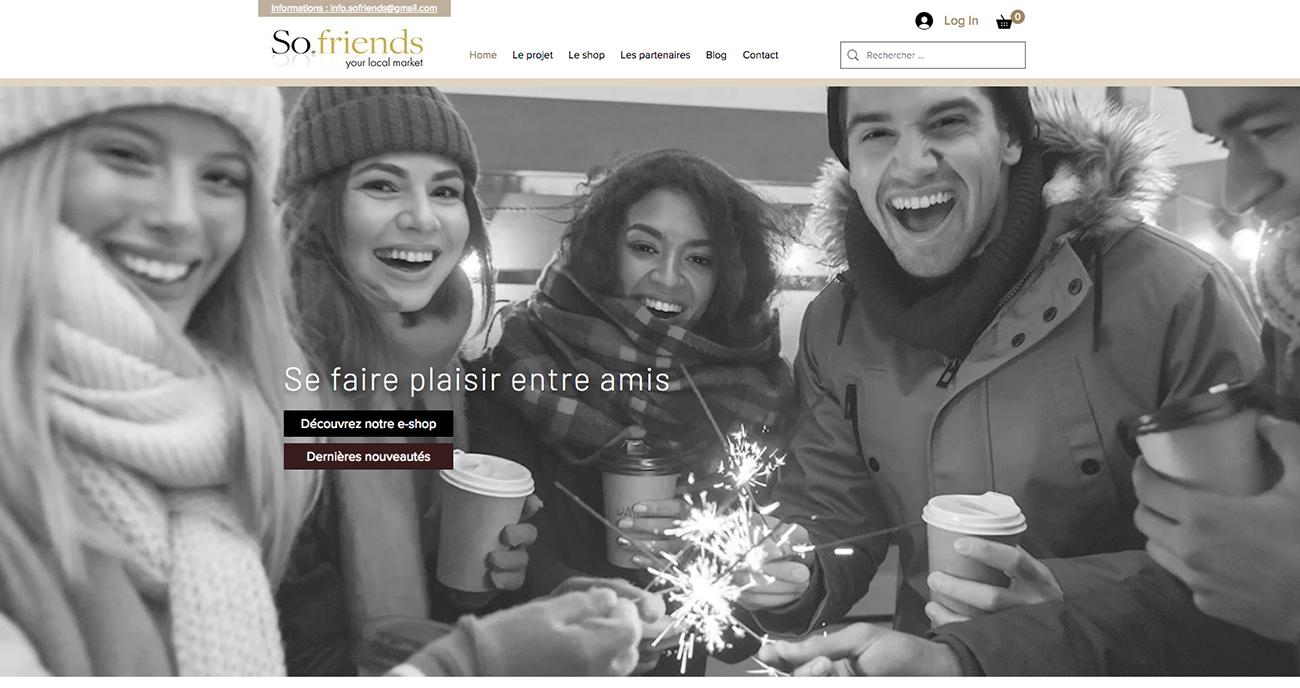 Projet so-friends.com