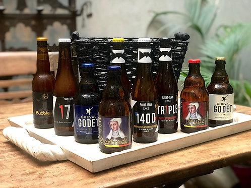 Panier cadeau Bières nivelloises