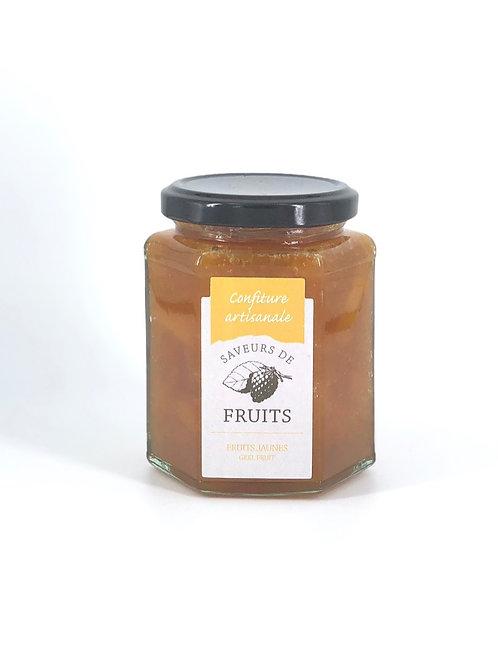 Confiture artisanale Saveurs de Fruits Fruits jaunes