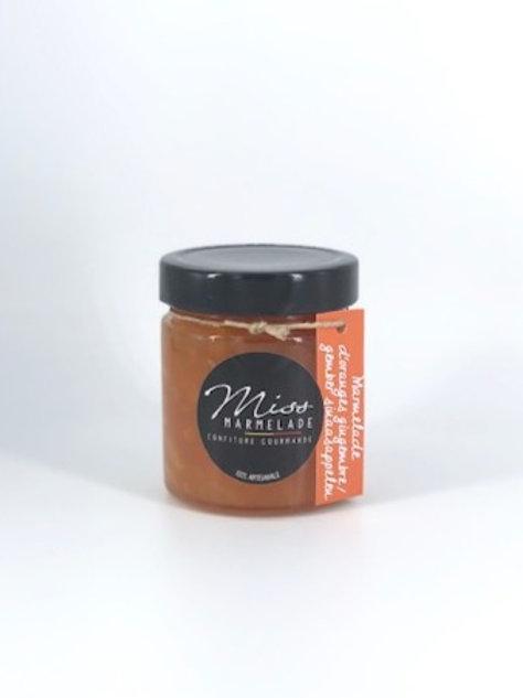 Confiture Miss Marmelade Orange-gingembre