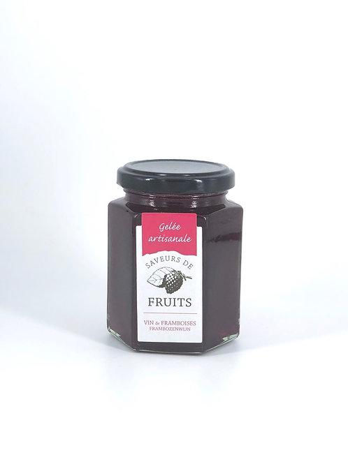 Gelée artisanale Saveurs de Fruits Vin de Framboise