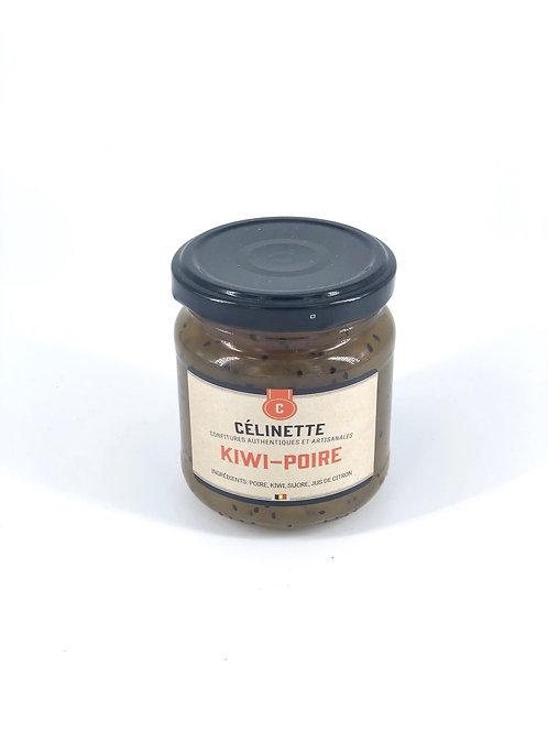 Confiture Célinette Kiwi-Poire 245 gr