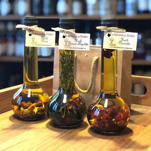 Petit pack de 2 huiles aromatisées