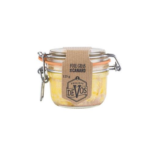 Foie Gras de canard Porto et Armagnac Devos 125 gr