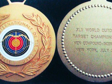 Клинт Фриман. Блочный лук: мой путь. Глава 10.2. Подготовка и золотой финал чемпионата мира 2003