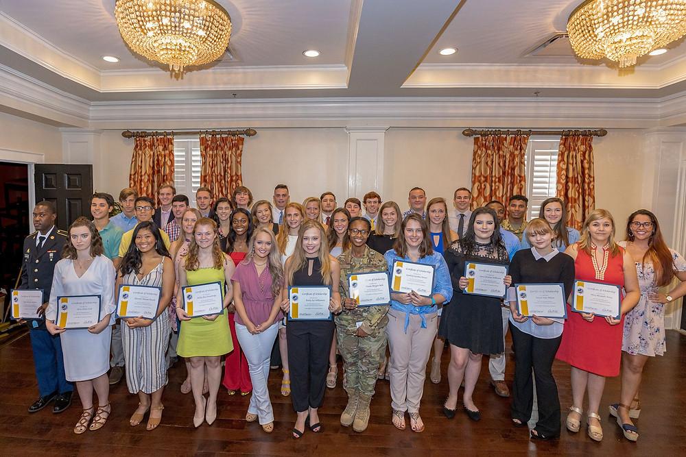 2019 SCNGF Scholarship Recipients