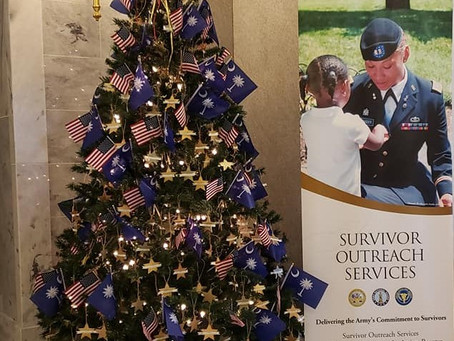 2nd Annual South Carolina Tree for the Fallen at the SC State House, Columbia SC
