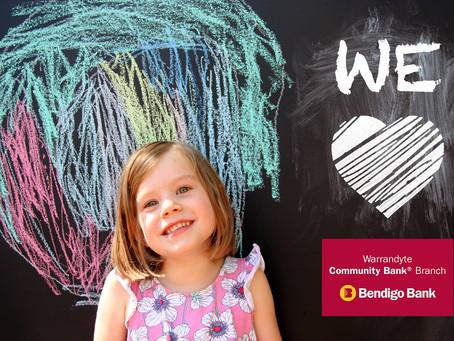 Congratulations Warrandyte Community Bank Branch!