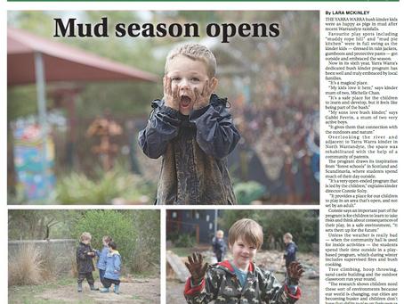 Mud season is here!