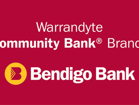 Thankyou to Warrandyte Community Bank!