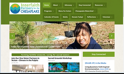 Interfaith Partners for the Chesapeake s