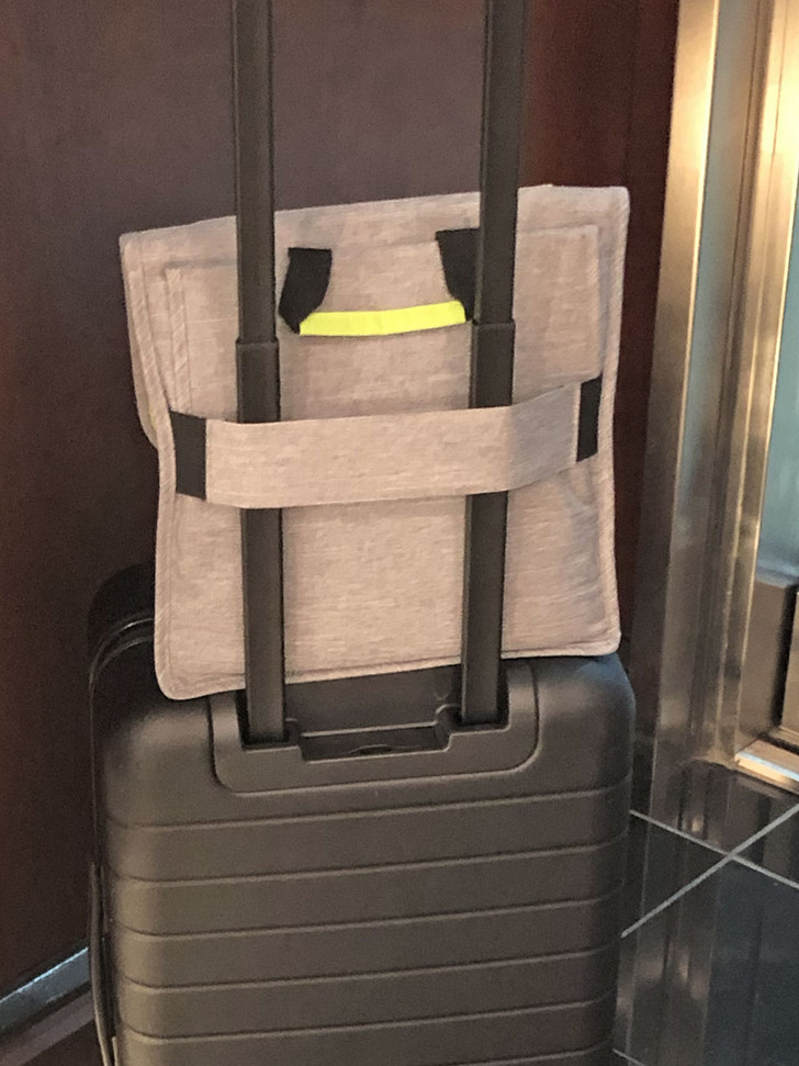 Elastic Strap Fits Over Suitcase Handle