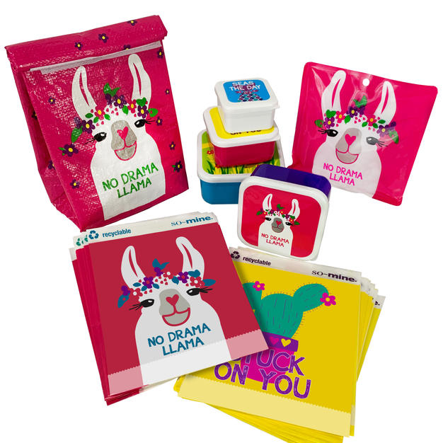 Llama Lunch Kit - 31 Piece Set