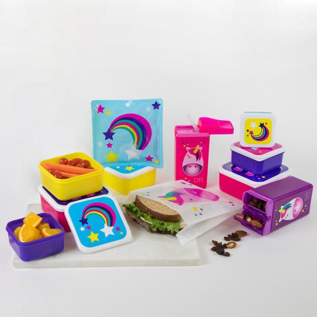 Unicorn Lunch Kit - 33 Piece Set
