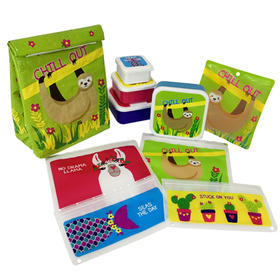 Sloth Lunch Kit - 10 Piece Set