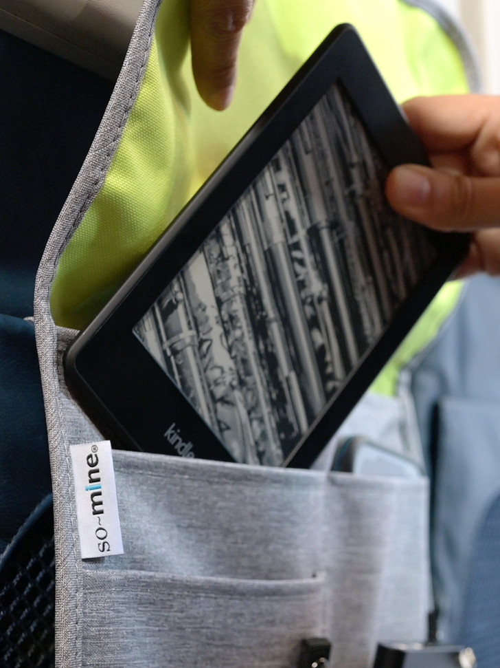 Keep your personal items out of germ infested pockets