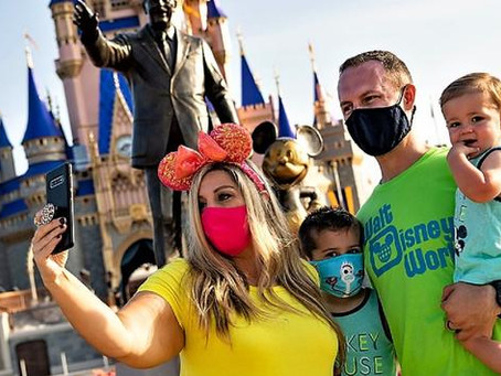 Restaurant Face Mask Policy Update - Disney World