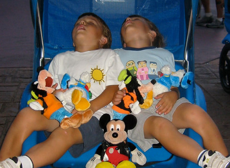 Help Getting a baby to nap at Disneyland
