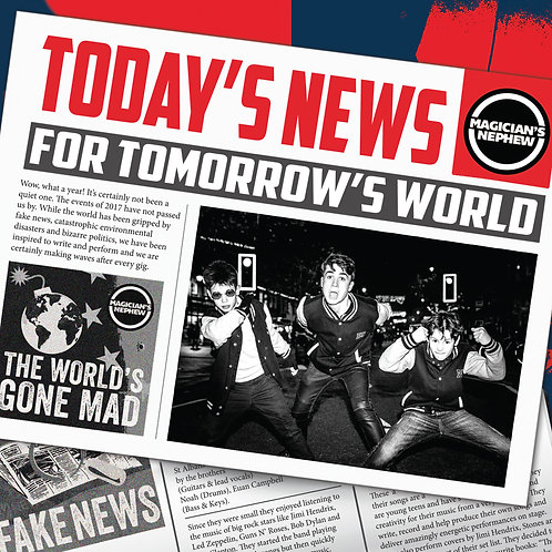 Today's News ForTomorrow's World CD