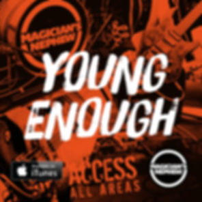 Young Enough album cover