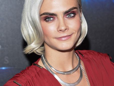 Cara Delevingne Talks About Learning To Love Her Eyebrows