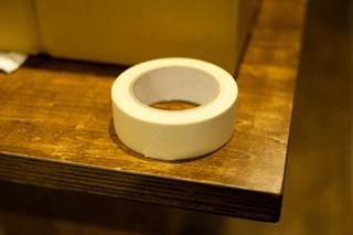 内装作業用養生テープ