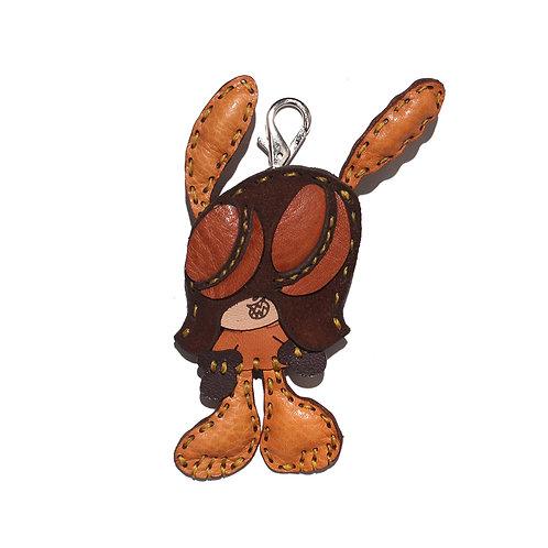 "SKOLOCT x OJAGA DESIGN Leather key holder ""M"""