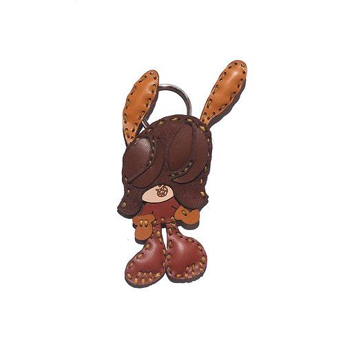 "SKOLOCT x OJAGA DESIGN Leather key holder ""S"""