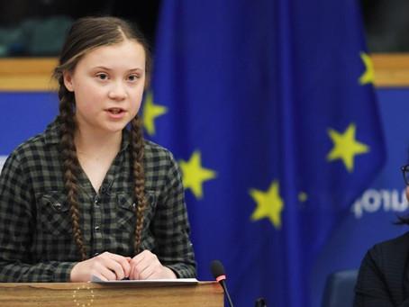 Οδηγός μας η δράση της μικρής Σουηδέζας ακτιβίστριας για το κλίμα